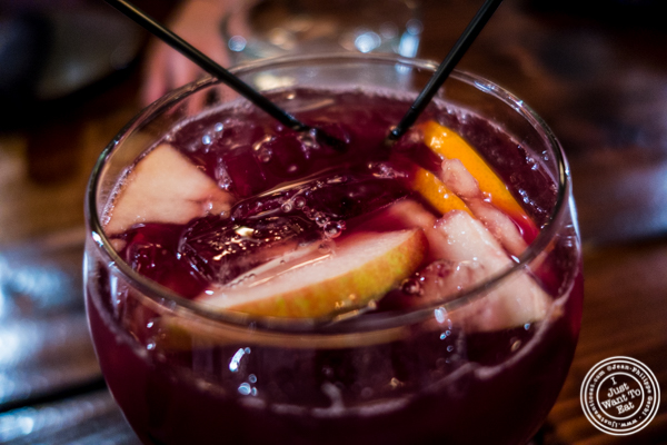 Sangria at Nai Tapas Bar in the East Village