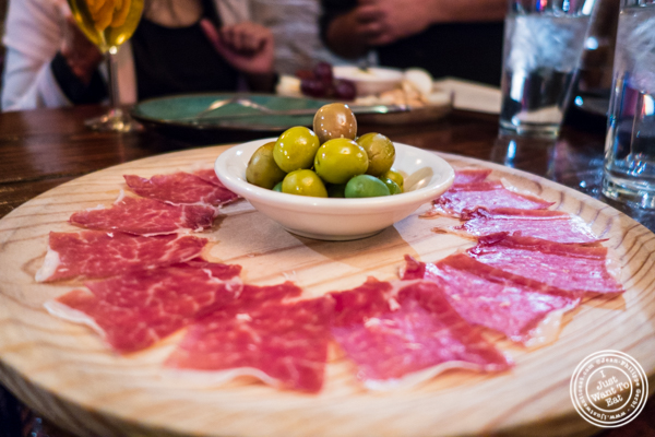 Iberico ham at Nai Tapas Bar in the East Village