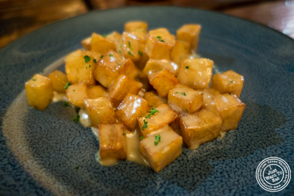 Cabrales potatoes at Nai Tapas Bar in the East Village