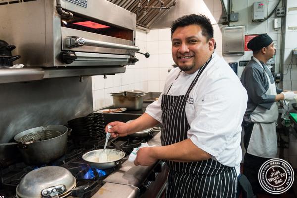 Chef Armando Avila at The Malt House in Greenwich Village