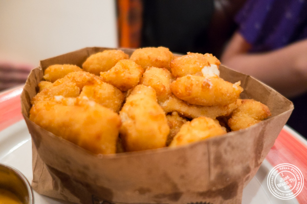 Cheese curds at The Malt House in Greenwich Village