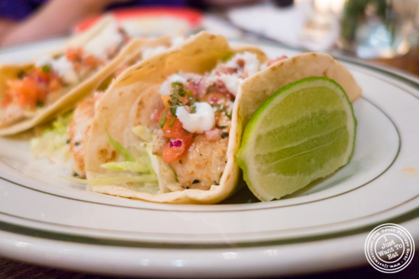 Chicken tacos at The Malt House in Greenwich Village