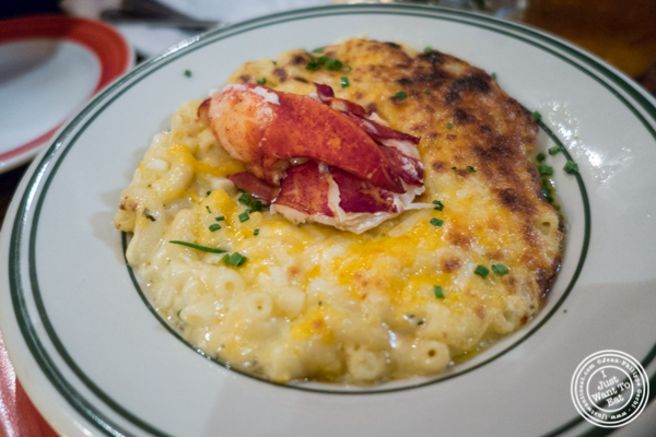 Lobster mac and cheese at The Malt House in Greenwich Village