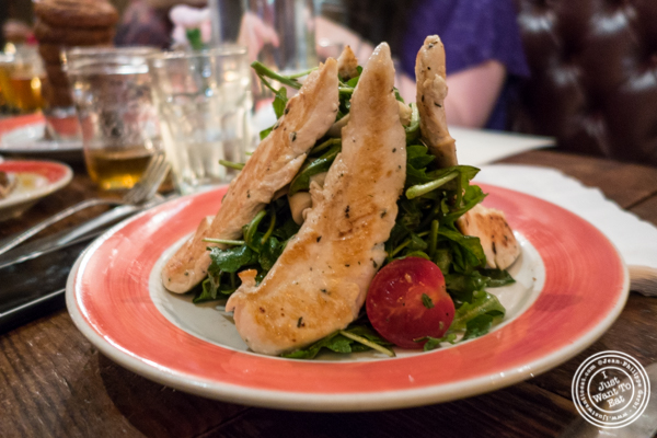 The Malt House salad at The Malt House in Greenwich Village
