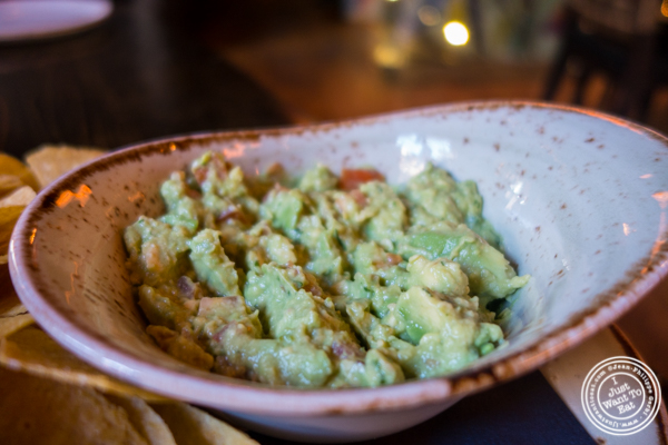 Guacamole at Dos Caminos Meat Packing District in NYC, New York