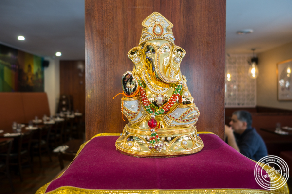 Lord Ganesha at Kailash Parbat in Curry Hill, NYC, New York