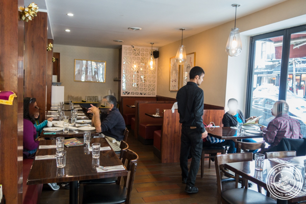 Dining room at Kailash Parbat in Curry Hill, NYC, New York
