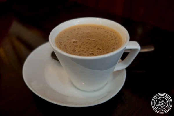 Masala chai at Kailash Parbat in Curry Hill, NYC, New York