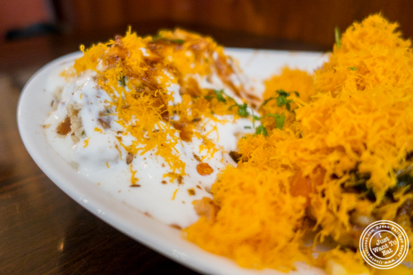 Dahi wada at Kailash Parbat in Curry Hill, NYC, New York