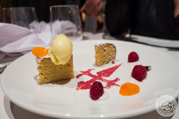 Almond cake at Andanada 141 in NYC, New York