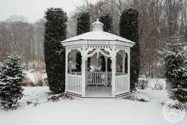 Gazebo at The Stone House at Clove Lakes in Staten Island, NY