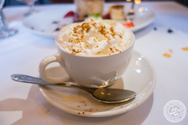 Nutella cappucino at The Stone House at Clove Lakes in Staten Island, NY