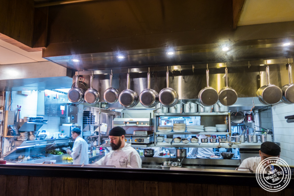 Kitchen at TESSA, Upper West Side, NYC, New York