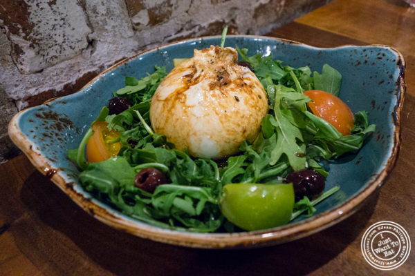 Burrata at TESSA, Upper West Side, NYC, New York