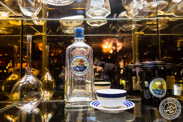 Vodka from Petrossian in NYC, New York