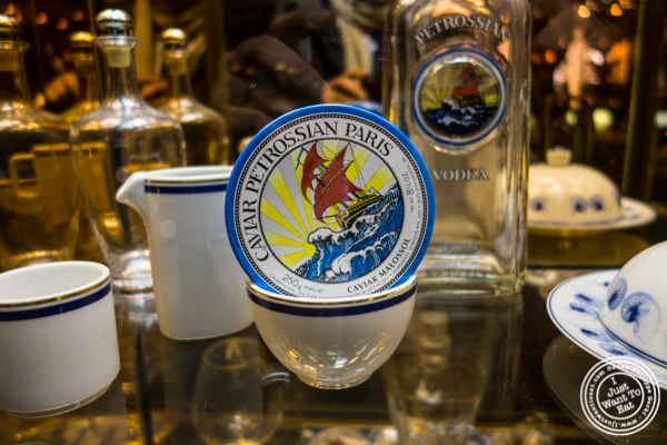 Caviar from Petrossian in NYC, New York