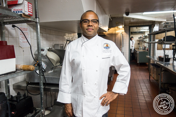 Executive Chef Richard Farnabe at Petrossian in NYC, New York