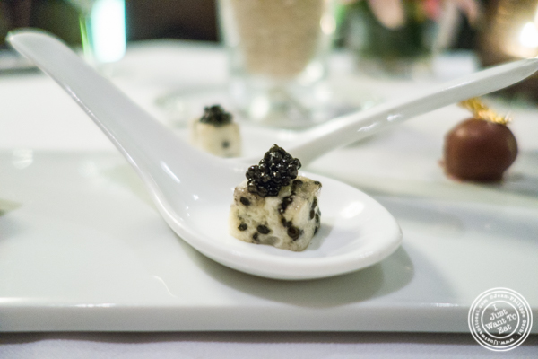 Marshmallow and caviar at Petrossian in NYC, New York