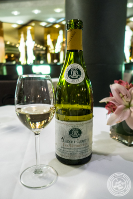 Macon-Lugny Les Genievres 2013 from Burgundy, France at Petrossian in NYC, New York