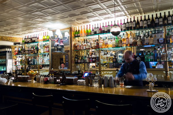 Bar at The Royal Munkey in NYC, New York