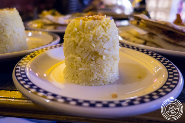 Ghee rice at The Royal Munkey in NYC, New York
