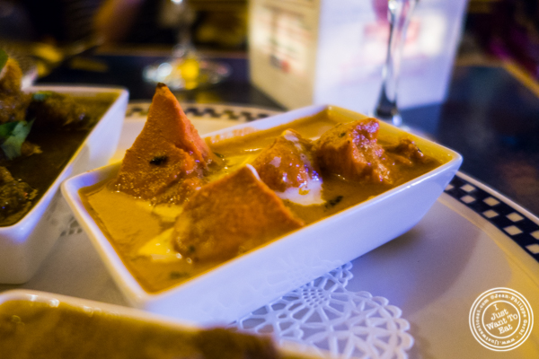 Butter chicken tikka masala at The Royal Munkey in NYC, New York