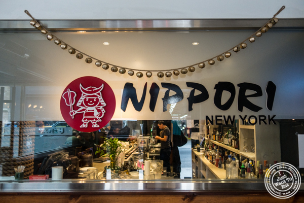 Entrance of Nippori in NYC, NY