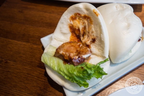 Pork buns at Nippori in NYC, NY