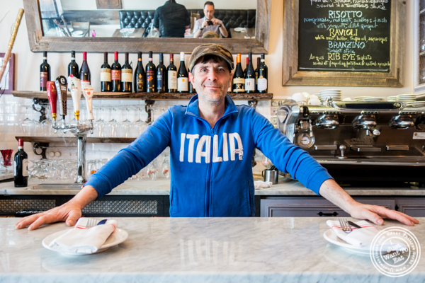 Chef Antonio Morichini of Via Vai in Astoria, Queens