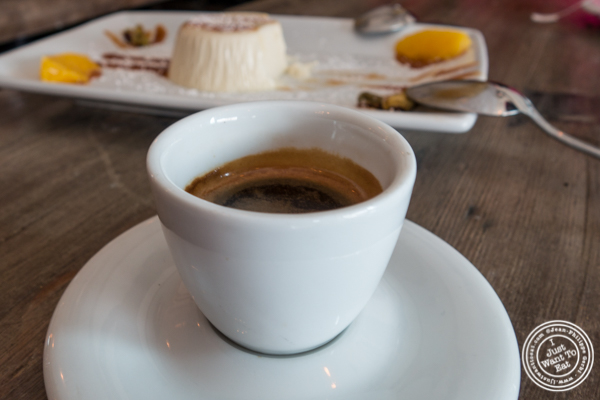 Espresso at Via Vai in Astoria, Queens
