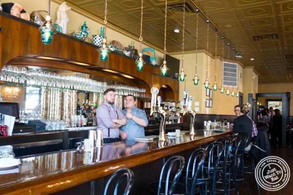 Bar at Sorellina in Hoboken, NJ