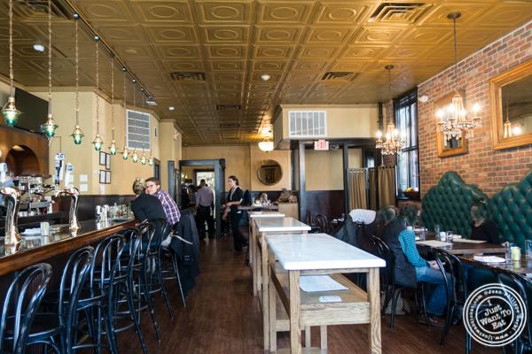 Dining room at Sorellina in Hoboken, NJ