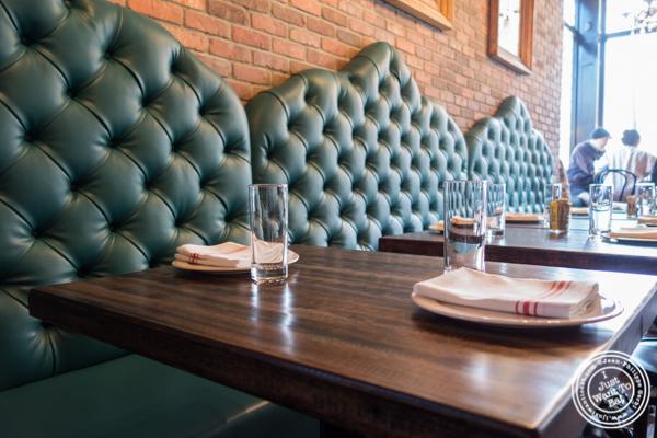 Table at Sorellina in Hoboken, NJ