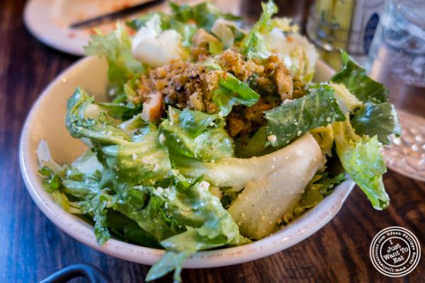 Escarole salad at Sorellina in Hoboken, NJ