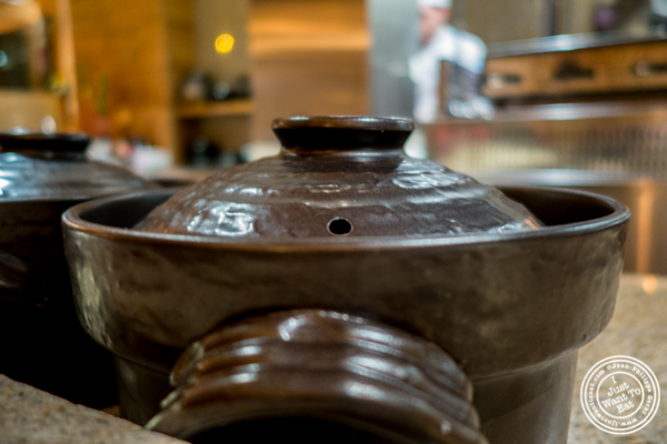 Pot at Brushstroke in TriBeCa