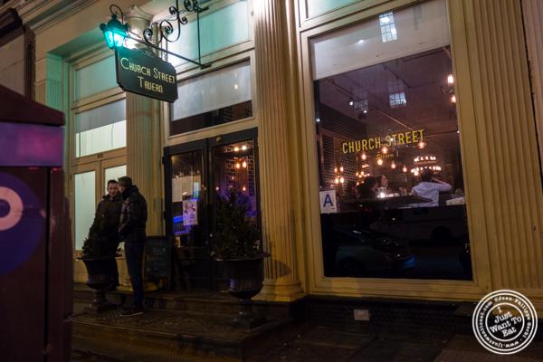 Church Street Tavern in TriBeCa