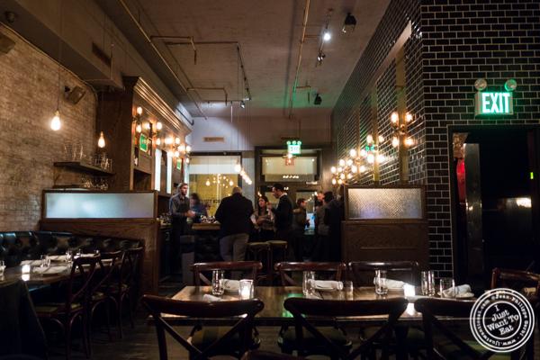 Dining room at Church Street Tavern in TriBeCa