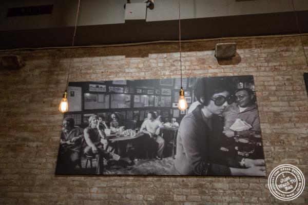 Decor at Church Street Tavern in TriBeCa