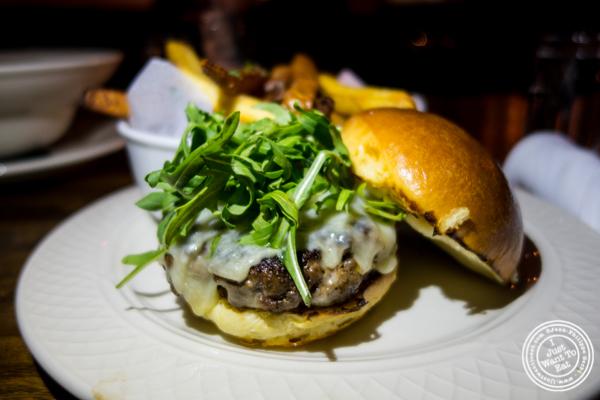 Tavern burger at Church Street Tavern in TriBeCa