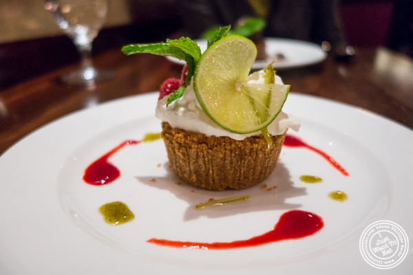 Key lime pie at North Square in NYC, New York