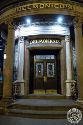 Delmonico's Steakhouse in The Financial District