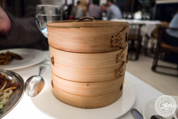 Soup dumplings at Mr Chow in TriBeCa