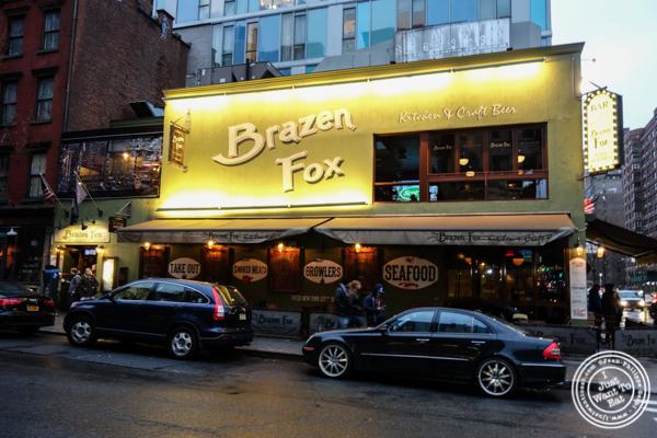 The Brazen Fox in the East Village