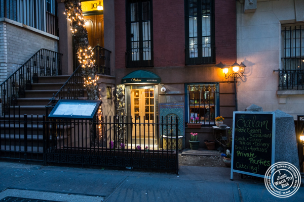 Salam café in Greenwich Village, NYC