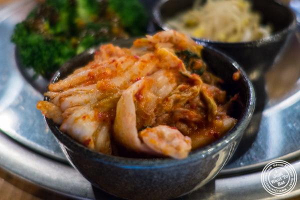 Kimchi at Gunbae in TriBeCa