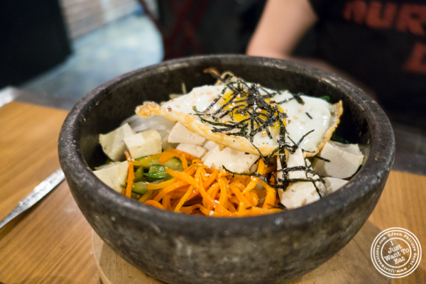 Bibimbap at Gunbae in TriBeCa