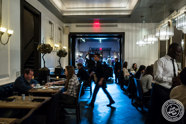 Dining room at Beauty and Essex in The Lower East Side