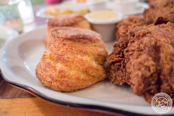Biscuits at Bubby's in TriBeCa, NYC