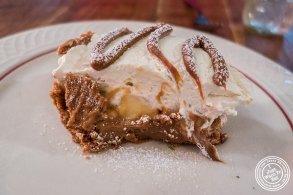 Banoffee at Bubby's in TriBeCa, NYC