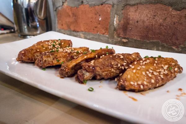 Nagoya spicy pepper chicken wings at MeiJin Ramen in the Upper East Side, NYC